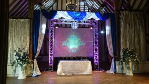 Themed event at Stansted Bury Lodge