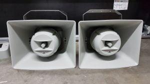 100v music speakers horn
