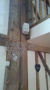 Wedding venue speaker install