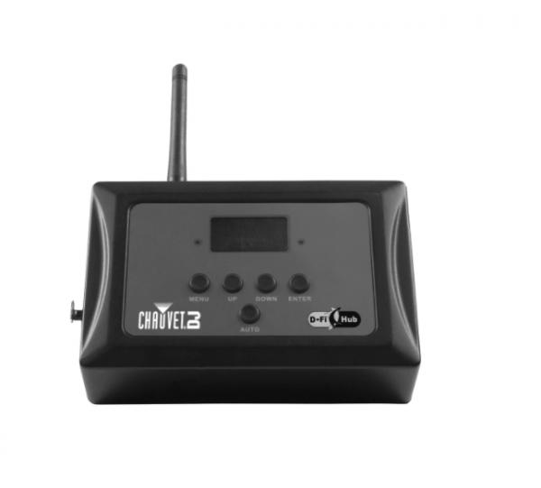 Chauvet d-fi wireless dmx adaptor