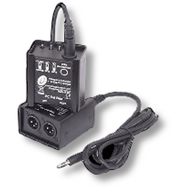 Interspace pc balance box allows a computer with 3. 5mm headphone output to plug into an xlr mixing desk