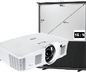 Projector & Screen package