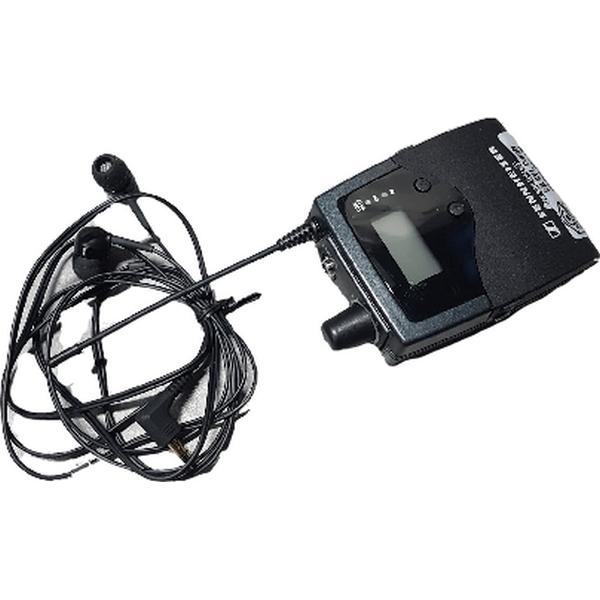 In ear monitoring (iem) belt pack my sennheiser used for musician monitoring