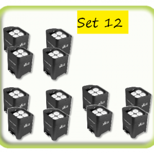 12 battery uplight package