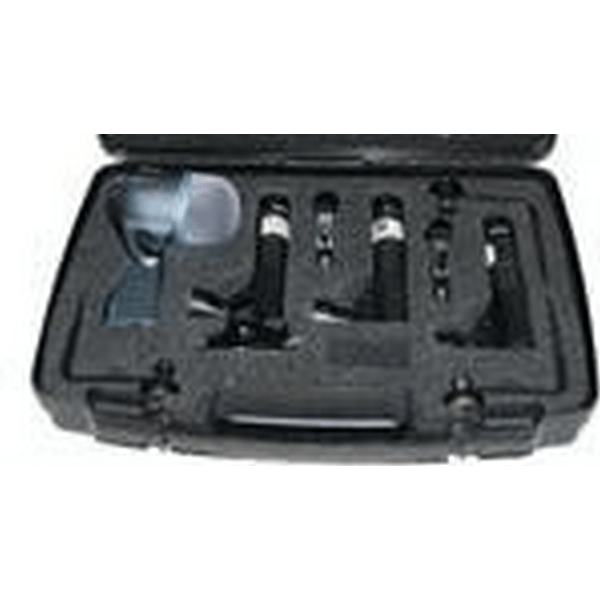 Shure drum microphone set with sm57 and a beta 58