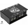 Black passive stereo DI box