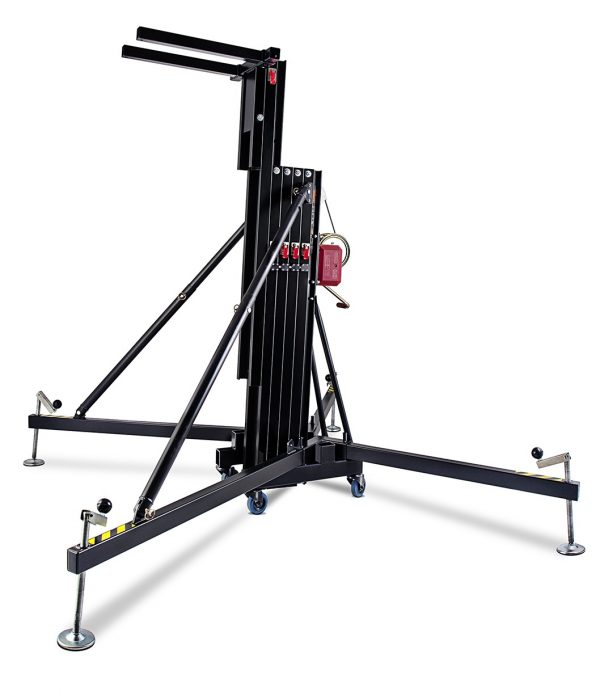 Wmb lifting tower for speakers setup
