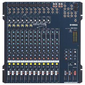 Yamaha analogue mixing desk