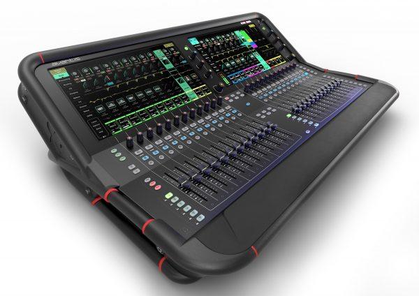 Allen & heath avantis digital mixing desk rental, smaller than a dlive desk but just as powerful