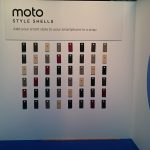 Exhibition wall phone covers made onsite