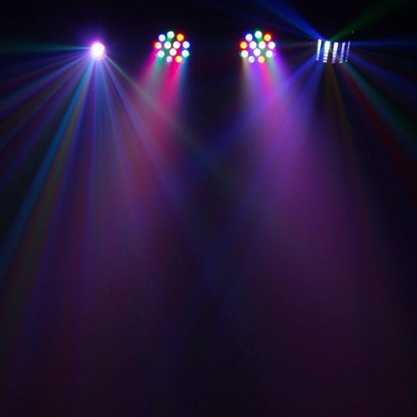 Disco bar lights hire diy effect1