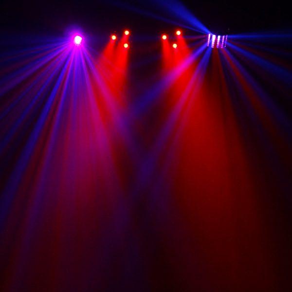 Disco bar lights hire diy effect2